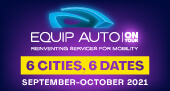 EQUIP AUTO On Tour's dates and venues in 2021