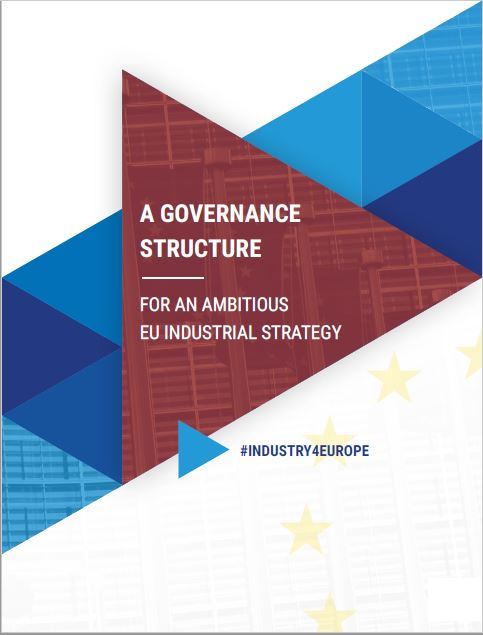 Paper proposing a governance structure for an ambitious EU Industrial Strategy